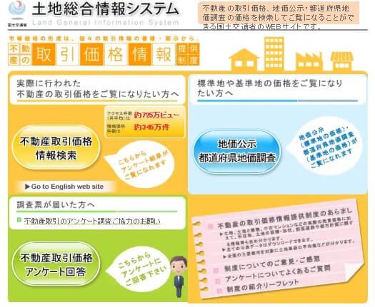 http://www.land.mlit.go.jp/webland/