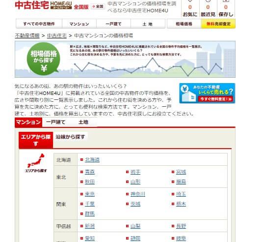https://www.home4u.jp/buy/search/sbTop.html